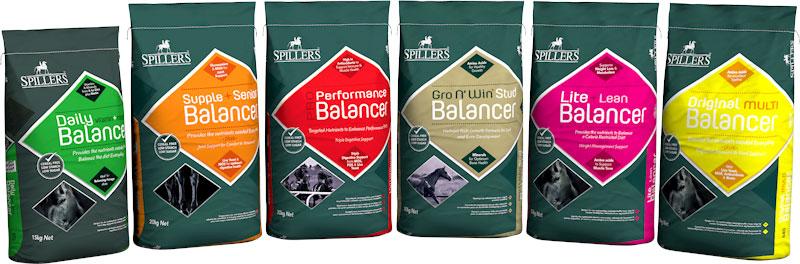 Spillers Balancer Range