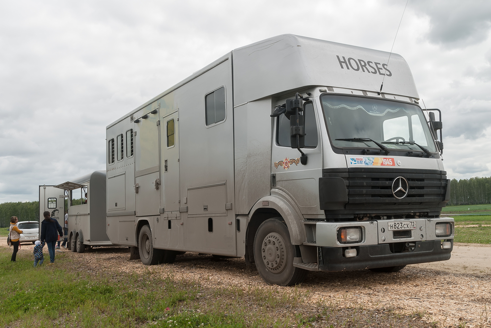 horse lorry