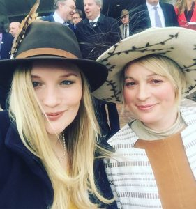 Hat fashion at the horse races