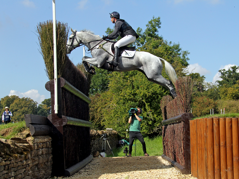 Harry Dzenis eventing